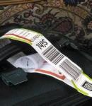 Синтетика ПП 2 ярлыка слоев слипчивых для багажей