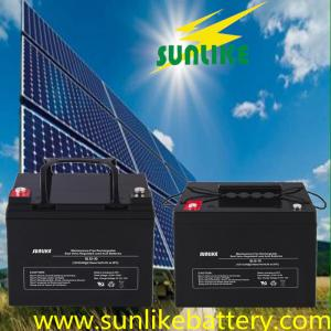 China 12V200ah AGM Rechargeable Sealed Lead Acid Battery for Solar Power on sale