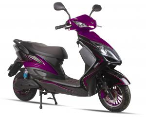 China 16'' Green 125CC Electric Motorcycles For Adults / Electric Motor Motorcycle on sale