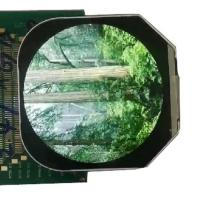 China Round 2.4 Inch TFT LCD Display 480*480 Module Full color LCD Screen on sale
