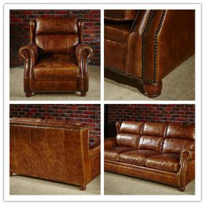 Modern Brown Leather Sectional Sofas , Tan Soft Leather ...