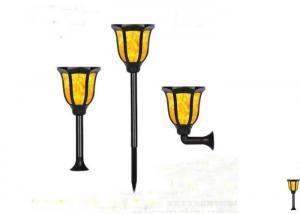 China 3.7V / 2200 MAh Battery Decorative Solar Lights / Solar Powered Flower Lights on sale