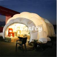 Hot Welding Led Party Inflatable Dome Tent Camping Outdoors 1 Year Warranty