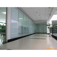 Acoustic Insulation Office Glass Partition Systems , Glass Bathroom Partition Walls