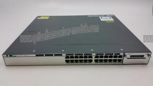 China Fast Ethernet Network Switch , Fiber Optic Ethernet Switch CISCO WS-C3750X-24T-L on sale