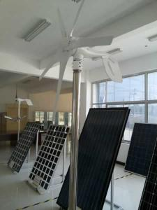 China 500w horizontal axis wind turbine with high efficiency suitable for home use on sale