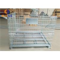 China 5.6mm Forklift Mesh Roll Cage on sale