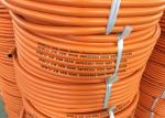 """BS3212/2 Standard 5 / 16"""" Inch High Pressure Gas hose Orange Color"""