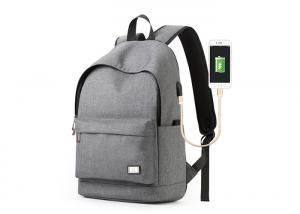 China Wholesale Laptop Backpack With Laptop Compartment And USB Charger For Traveling , Sports And School on sale