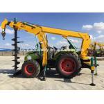 India pole erection machine piling machine tractor price