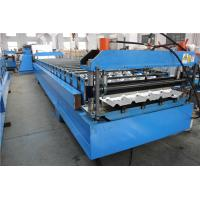 Joint Hidden Roof Panel Roll Forming Machine for Construction , Store Fixture