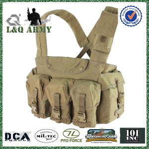 China Military Camouflage Tactical Vest 7 Pocket Chest Rig on sale