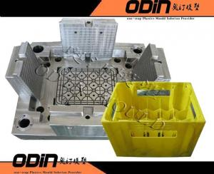 China Plastic crate mould/injection crate mold on sale