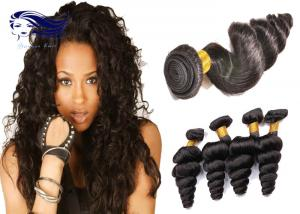 China Unprocessed 100 Virgin Brazilian Hair Extensions Beautiful Gloosy on sale