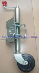 China Hot dip galvanized jockey wheel for trailer on sale