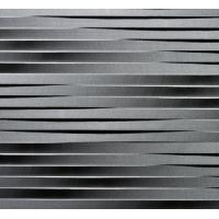 China Natural Basalt 3d Black Artstic Sculptural Wall Art Panels on sale