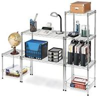 Carbon Steel Or SS 304 Home Wire Shelving TV Stands Modular Units For Household Uses