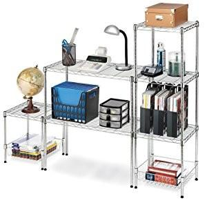 China Carbon Steel Or SS 304 Home Wire Shelving TV Stands Modular Units For Household Uses on sale