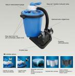 Filtragem de 0801 plásticos ajustada para piscinas & lagoas