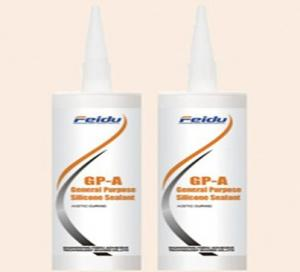 China GP-A general purpose silicone sealant acetic curing on sale