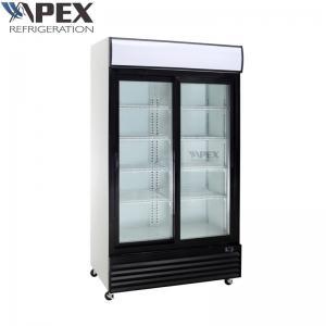quality dynamic cooling upright beverage cooler 2 door commercial refrigerator for sale - Commercial Refrigerator For Sale