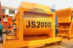 Low Energy 2 Yard JS2000 Concrete Mixer, Hydraulic Cement Mixer For Airports
