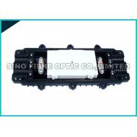 Horizontal Optical Fiber Cable Joint Closure / 4 Trays Fibre Optic Junction Box