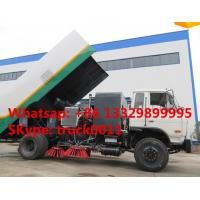dongfneg 4*2 RHD 170hp  high quality sweeper truck for sale, best price Dongfeng brand RHD 7tons diesel street sweeper