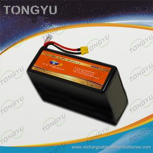China 40C UAV LiPo 18.5V 22000mAh Rechargeable RC Battery Pack on sale