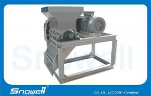 China Semi - automatic Industrial Ice Block Making Machine Ice Crusher , 1MT - 30MT/24hrs on sale