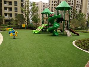China Landscape Sport Lawn Grass Carpet / Outdoor Artificial Grass OEM Service on sale