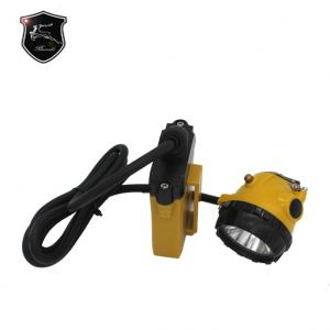 China High Quality Undergroud Miner Led Corded Cap Lamp with High Brightness 25000lux on sale