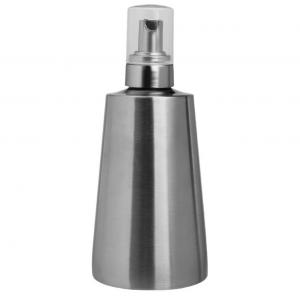 China 350ml 304 Stainless Steel Foam Big Press Dish Soap Dispenser Soap Container on sale