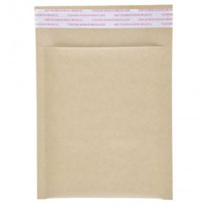 China Shockproof Biodegradable Padded Kraft Bubble Mailer on sale