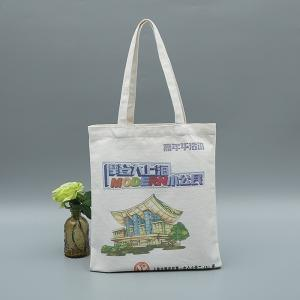 China Sustainable Reusable Canvas Shopping Bags Eco Friendly Shopping Bags on sale