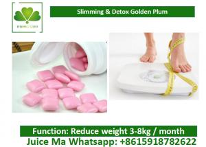 Quality OEM / ODM Slimming Chewing Gum Weight Loss Eliminate Toxin For Solving for sale