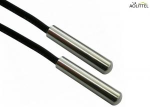 China Customized CWF Precision Stainless Steel NTC Micro Temperature Sensor 10KOhm 3435K 1% For Home Appliances on sale