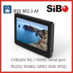 China Wall Mountable 7 Inch Industrial Android OS Control Panel on sale