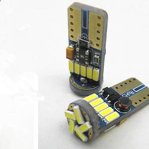 China manufacturer LED T10 15SMD 4014 Canbus led car light bulb t10 led on sale