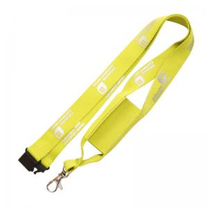 China custom college 100% polyester printed mobile phone cellphone holder lanyard on sale
