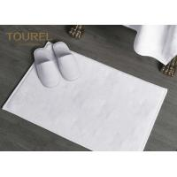 China Cotton Jacquard Hotel Bath Mats Carpet For 4 Or 5 Star Hotel on sale