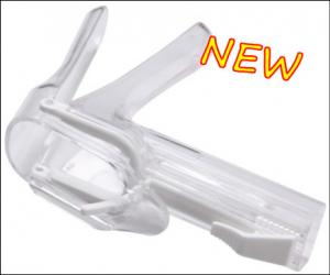 China Light Push Type Vaginal Speculum Medical Disposable Products WLM - 12001A on sale