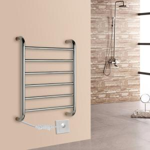 China Pratical Elegant Stainless Steel Wall Mounted Electric Heated  Towel Rail For Bathroom on sale