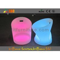 China でき事のための防水LEDによって照らされる椅子、52 x 52のX H65 Cm LEDのバー スツール on sale