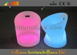 China Chaise lumineuse par LED imperméable pour des événements, 52 x 52 tabourets de bar de X H65 cm LED on sale
