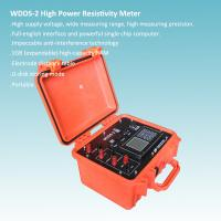 High Voltage Resistivity Meter For Large Rang Geophysical Exploration