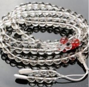 China Hf-642t Crystal Beads Bracelet&necklace on sale
