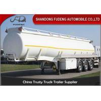Bitumen Storage Transport Tanker Trailer /  Tri Axle petroleum tank trailers