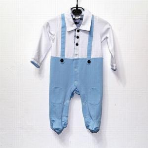 China New arrival hot sale 2014 top quality designer a-marni baby's short cotton Clasp jumpsuits on sale