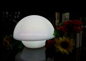 China Customized Design LED Decorative Table Lamps , Colorful Mushroom LED Night Lamp on sale